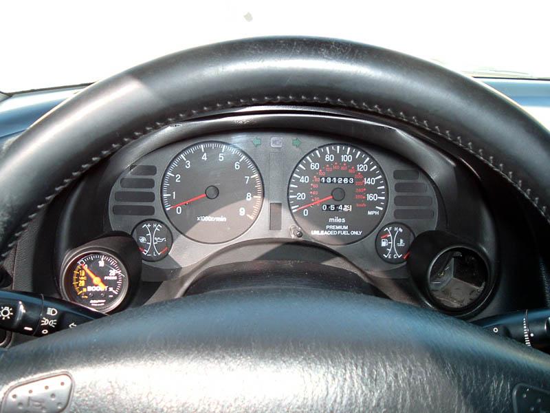 Gaugeclusterbezel on 2004 Mitsubishi Eclipse