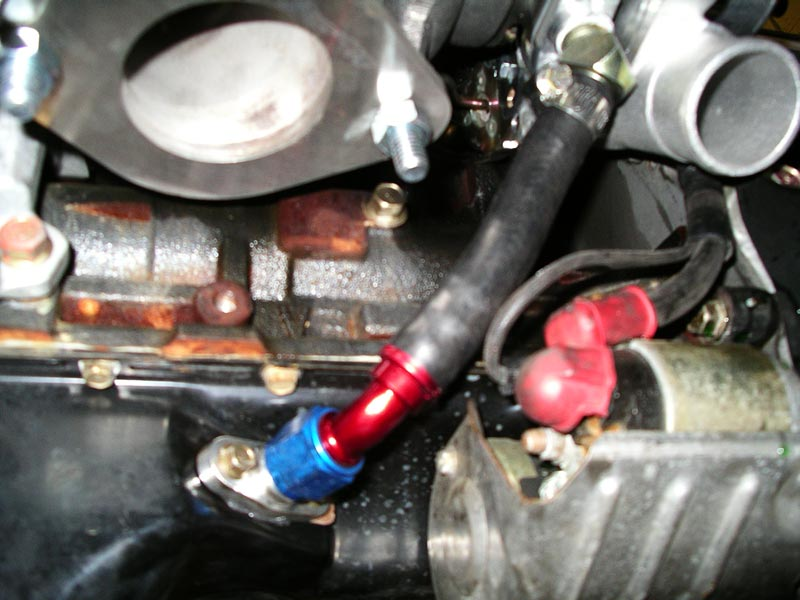Oil Pan Turbo Drain Line Solutions - Mirage Performance Forums