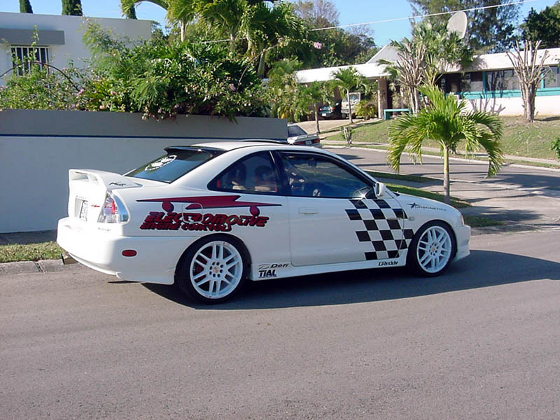 this is his 1999 mitsubishi mirage ls 18 sohc 4g93 he has turbo charged the 18 it is named the north project - Mitsubishi Mirage 1999 Modified