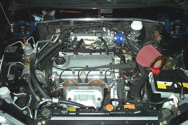 1997+ 4G15 1.5 liter engine (this is a 2000)