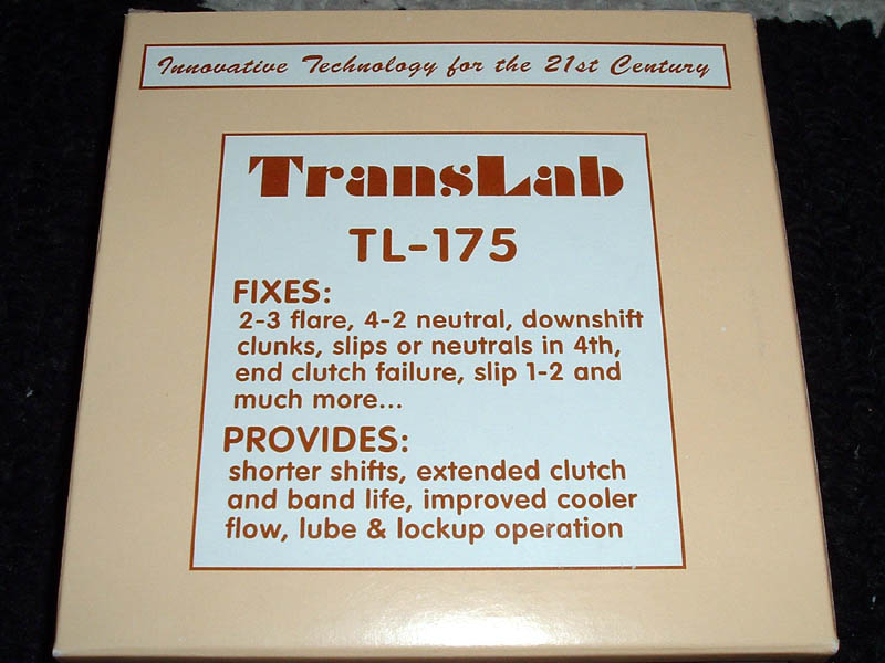 Translab Shift Kit Install On A Km177